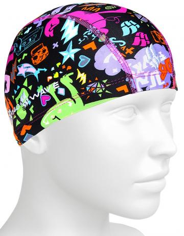 Юниорская текстильная шапочка Lycra MONSTERS