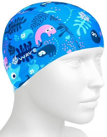 Юниорская текстильная шапочка Lycra SEA LIFE