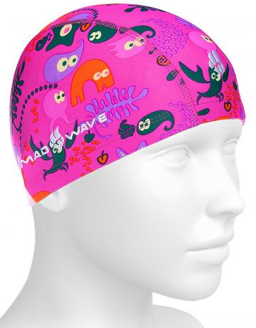 Текстильная шапочка для плавания Lycra SEA LIFEТекстильные шапочки<br>Детская текстильная шапочка для ежедневных тренировок.<br><br>Размер: None<br>Цвет: Розовый
