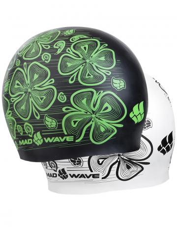 Силиконовые шапочки Mad Wave Reverse Flora M0552 08 0 10WСиликоновые шапочки<br>3D двусторонняя силиконовая шапочка.<br><br>Размер: None<br>Цвет: Зеленый