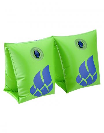 Нарукавники для плавания Regular Arm BandsНарукавники<br>Сделаны из высококачественного ламинированного низкофталатного ПВХ с безопасными клапанами. Соответствуют всем европейским стандартам безопасности. От 0-2 лет на вес 11-15 кг. От 2-6 лет на вес 15-30 кг. На 6-12 лет: вес 30-60 кг. От 12 лет на вес от 60 кг.<br><br>Размер RU: 0-2<br>Цвет: Зеленый