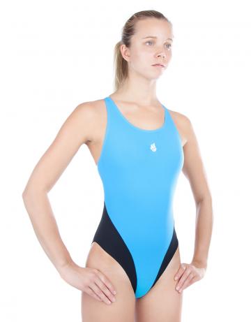 Купальник антихлор для бассейна ReactionКупальники антихлор<br>Купальник слитный с эргономичной спиной Active Back. Модели из светлой ткани спереди на подкладке. Вырез бедра высокий. Серия ткани Training. Идеально подходит для частых тренировок.<br><br>Размер: XL<br>Цвет: Голубой