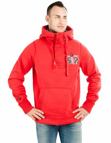 Спортивная толстовка куртка SAINT PETERSBURGМужские куртки и толстовки<br>Мужской пулловер с аппликацией и вышивкой на груди и на спине.<br><br>Размер INT: XXL<br>Цвет: Красный