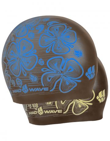 Силиконовая шапочка для плавания Reverse FloraСиликоновые шапочки<br>Силиконовая шапочка Mad Wave Reverse Flora - двусторонняя шапочка со стильным растительным принтом. Основная особенность: совмещает в себе две шапочки разных цветов. Для того чтобы изменить цвет, нужно просто вывернуть шапочку наизнанку.  Мягкий прочный силикон обеспечивает идеальную посадку и комфорт. Материал шапочки не вызывает раздражения, что гарантирует безопасность использования шапочки. Силикон не пропускает воду и приятен на ощупь.<br><br>Цвет: Серый