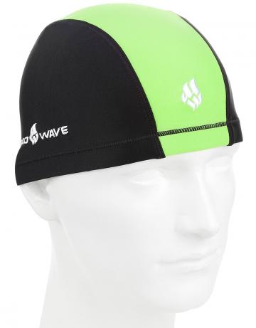 Текстильные шапочки Mad Wave Lycra DOUTONE M0522 03 0 10WТекстильные шапочки<br>Текстильная шапочка для ежедневных тренировок.<br><br>Размер: None<br>Цвет: Зеленый