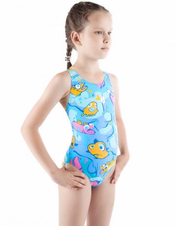 Детский купальник WORMITYДетские купальники<br>Купальник спортивный слитный. Широкие бретели комфортны при движении. Вырез бедра высокий. Модель идеально подходит для тренировок и отдыха.<br><br>Размер INT: XL<br>Цвет: Синий