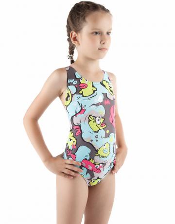 Детский купальник WORMITYДетские купальники<br>Купальник спортивный слитный. Широкие бретели комфортны при движении. Вырез бедра высокий. Модель идеально подходит для тренировок и отдыха.<br><br>Размер INT: XL<br>Цвет: Хаки
