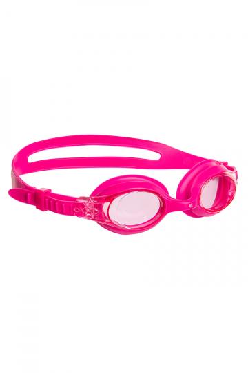 Тренировочные очки для плавания Junior AutosplashТренировочные очки<br>Удобные  юниорские очки для водных видов спорта и отдыха. Система автоматической регулировки ремешков.<br><br>Цвет: Розовый