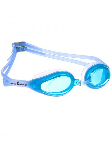 Тренировочные очки Mad Wave Vanish M0426 08 0 04WТренировочные очки<br>Стильные очки для ежедневных тренировок. Гидродинамическая форма и удобная посадка-отличительные особенности данной модели.<br><br>Размер: None<br>Цвет: Голубой