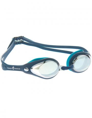 Тренировочные очки для плавания Vanish MirrorТренировочные очки<br>Очки VANISH от Mad Wave послужат прекрасным дополнением к частым тренировкам в бассейне. Надежная посадка, обеспеченная низкопрофильным обтюратором и сменной носовой перемычкой (3 штуки), позволят полностью сконцентрироваться на тренировке. Зеркальные линзы с защитой от ультрафиолета UV 400 и покрытием от запотевания Антифог.<br><br>Цвет: Синий