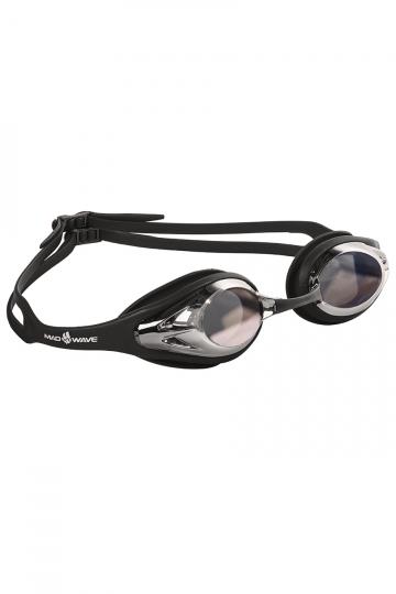 Тренировочные очки для плавания Alligator mirrorТренировочные очки<br>Очки ALLIGATOR MIRROR от компании Mad Wave идеально подойдут для регулярных тренировок в бассейне! Высокий эргономичный обтюратор и сменные носовые перемычки обеспечат удобство в использовании и надежную посадку. Зеркальные линзы с защитой от ультрафиолета UV 400 и покрытием Антифог.<br><br>Цвет: Черный