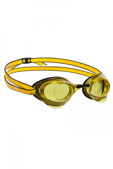 Стартовые очки Turbo Racer IIСтартовые очки<br>Усовершенствованные гидродинамические свойства и низкопрофильный дизайн очков Turbo Racer II обеспечат максимально эффективное скольжение в воде при наименьшем сопротивлении. Модель оснащена защитой от ультрафиолета UV и покрытием антифог для безупречного обзора. Очки подходят как для стартов, так и для регулярных тренировок. В комплекте 3 сменные носовые перемычки.<br><br>ОСОБЕННОСТИ:<br><br><br> Особая конструкция линз - повышает гидродинамические свойства;<br> Низкопрофильный обтюратор - обеспечивает надежную и удобную посадку;<br> Защита UV - защита от ультрафиолета;<br> Покрытие антифог - защита от запотевания;<br> 3 сменные носовые перемычки - очки подходят для любого типа лица.<br><br>Размер: None<br>Цвет: Желтый