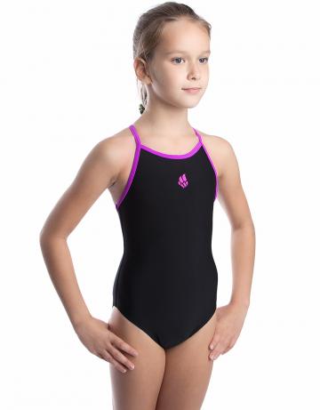 Детский купальник NataДетские купальники<br><br><br>Размер: XXXL<br>Цвет: Черный