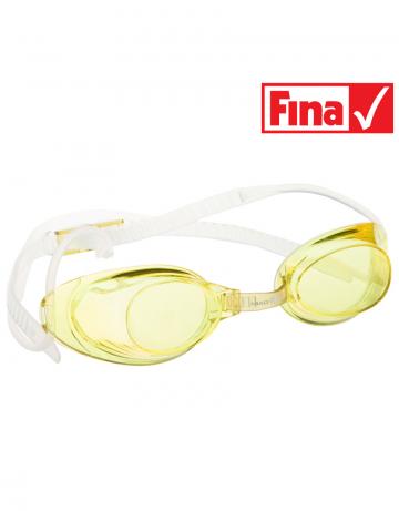 Стартовые очки Liquid RacingСтартовые очки<br>Стартовые очки Mad Wave LIQUID – выбор искушенных профессионалов! Очки сочетают в себе простоту и высокую эффективность для ответственных стартов. Линзы не имеют обтюратора, что обеспечивает жесткую и надежную посадку, а двойной автоматический силиконовый ремешок выполнен из упроченного силикона для дополнительной безопасности и непревзойденного комфорта.<br><br>Все модели стартовых очков LIQUID одобрены федерацией FINA для участия в международных соревнованиях.<br><br><br>ОСОБЕННОСТИ<br><br><br> Система автоматической настройки ремешка - позволяет быстро и надежно зафиксировать очки;<br> Без обтюратора - более жесткая и надежная посадка;<br> Ремешок из упроченного силикона - повышенная безопасность;<br>Защита UV - защита от ультрафиолета;<br>Покрытие Антифог Плюс - усовершенствованная защита от запотевания;<br>Многоступенчатая носовая перемычка - подходят для любого типа лица;<br>FINA approved - очки сертифицированы федерацией FINA для участия в международных соревнованиях.<br><br>Цвет: Желтый