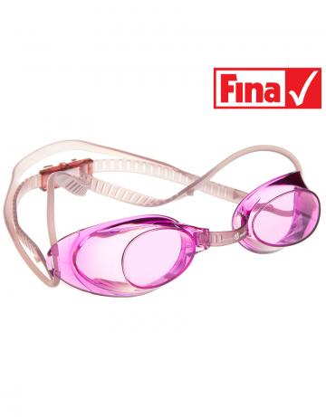Стартовые очки Liquid RacingСтартовые очки<br>Стартовые очки Mad Wave LIQUID – выбор искушенных профессионалов! Очки сочетают в себе простоту и высокую эффективность для ответственных стартов. Линзы не имеют обтюратора, что обеспечивает жесткую и надежную посадку, а двойной автоматический силиконовый ремешок выполнен из упроченного силикона для дополнительной безопасности и непревзойденного комфорта.<br><br>Все модели стартовых очков LIQUID одобрены федерацией FINA для участия в международных соревнованиях.<br><br><br>ОСОБЕННОСТИ<br><br><br> Система автоматической настройки ремешка - позволяет быстро и надежно зафиксировать очки;<br> Без обтюратора - более жесткая и надежная посадка;<br> Ремешок из упроченного силикона - повышенная безопасность;<br>Защита UV - защита от ультрафиолета;<br>Покрытие Антифог Плюс - усовершенствованная защита от запотевания;<br>Многоступенчатая носовая перемычка - подходят для любого типа лица;<br>FINA approved - очки сертифицированы федерацией FINA для участия в международных соревнованиях.<br><br>Цвет: Розовый