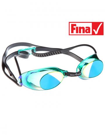 Стартовые очки Liquid Racing MirrorСтартовые очки<br>Стартовые очки Mad Wave LIQUID RACING Mirror – выбор искушенных профессионалов! Очки сочетают в себе простоту и высокую эффективность для ответственных стартов. Линзы не имеют обтюратора, что обеспечивает жесткую и надежную посадку, а двойной автоматический силиконовый ремешок выполнен из упроченного силикона для дополнительной безопасности и непревзойденного комфорта.<br><br>Все модели стартовых очков LIQUID одобрены федерацией FINA для участия в международных соревнованиях.<br><br><br>ОСОБЕННОСТИ:<br><br><br> Зеркальное покрытие линз - усовершенствованный дизайн и дополнительная защита от бликов;<br> Система автоматической настройки ремешка - позволяет быстро и надежно зафиксировать очки;<br> Без обтюратора - более жесткая и надежная посадка;<br> Ремешок из упроченного силикона - повышенная безопасность;<br>Защита UV - защита от ультрафиолета;<br>Покрытие Антифог Плюс - усовершенствованная защита от запотевания;<br>Многоступенчатая носовая перемычка - подходят для любого типа лица;<br>FINA approved - очки сертифицированы федерацией FINA для участия в международных соревнованиях.<br><br>Размер: None<br>Цвет: Зеленый