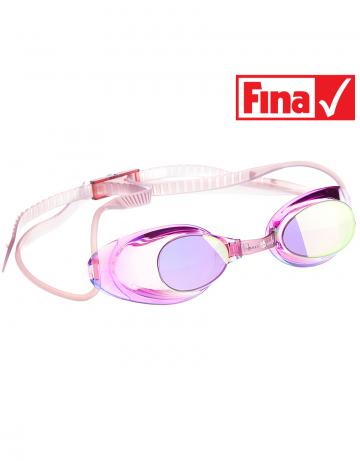 Стартовые очки Liquid Racing MirrorСтартовые очки<br>Стартовые очки Mad Wave LIQUID RACING Mirror – выбор искушенных профессионалов! Очки сочетают в себе простоту и высокую эффективность для ответственных стартов. Линзы не имеют обтюратора, что обеспечивает жесткую и надежную посадку, а двойной автоматический силиконовый ремешок выполнен из упроченного силикона для дополнительной безопасности и непревзойденного комфорта.<br><br>Все модели стартовых очков LIQUID одобрены федерацией FINA для участия в международных соревнованиях.<br><br><br>ОСОБЕННОСТИ:<br><br><br> Зеркальное покрытие линз - усовершенствованный дизайн и дополнительная защита от бликов;<br> Система автоматической настройки ремешка - позволяет быстро и надежно зафиксировать очки;<br> Без обтюратора - более жесткая и надежная посадка;<br> Ремешок из упроченного силикона - повышенная безопасность;<br>Защита UV - защита от ультрафиолета;<br>Покрытие Антифог Плюс - усовершенствованная защита от запотевания;<br>Многоступенчатая носовая перемычка - подходят для любого типа лица;<br>FINA approved - очки сертифицированы федерацией FINA для участия в международных соревнованиях.<br><br>Цвет: Фиолетовый