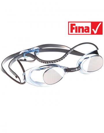Стартовые очки Liquid Racing MirrorСтартовые очки<br>Стартовые очки Mad Wave LIQUID RACING Mirror – выбор искушенных профессионалов! Очки сочетают в себе простоту и высокую эффективность для ответственных стартов. Линзы не имеют обтюратора, что обеспечивает жесткую и надежную посадку, а двойной автоматический силиконовый ремешок выполнен из упроченного силикона для дополнительной безопасности и непревзойденного комфорта.<br><br>Все модели стартовых очков LIQUID одобрены федерацией FINA для участия в международных соревнованиях.<br><br><br>ОСОБЕННОСТИ:<br><br><br> Зеркальное покрытие линз - усовершенствованный дизайн и дополнительная защита от бликов;<br> Система автоматической настройки ремешка - позволяет быстро и надежно зафиксировать очки;<br> Без обтюратора - более жесткая и надежная посадка;<br> Ремешок из упроченного силикона - повышенная безопасность;<br>Защита UV - защита от ультрафиолета;<br>Покрытие Антифог Плюс - усовершенствованная защита от запотевания;<br>Многоступенчатая носовая перемычка - подходят для любого типа лица;<br>FINA approved - очки сертифицированы федерацией FINA для участия в международных соревнованиях.<br><br>Цвет: Серый