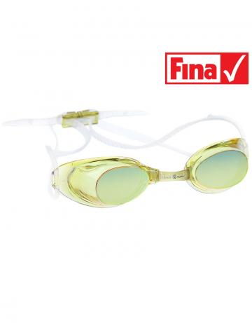 Стартовые очки Liquid Racing MirrorСтартовые очки<br>Стартовые очки Mad Wave LIQUID RACING Mirror – выбор искушенных профессионалов! Очки сочетают в себе простоту и высокую эффективность для ответственных стартов. Линзы не имеют обтюратора, что обеспечивает жесткую и надежную посадку, а двойной автоматический силиконовый ремешок выполнен из упроченного силикона для дополнительной безопасности и непревзойденного комфорта.<br><br>Все модели стартовых очков LIQUID одобрены федерацией FINA для участия в международных соревнованиях.<br><br><br>ОСОБЕННОСТИ:<br><br><br> Зеркальное покрытие линз - усовершенствованный дизайн и дополнительная защита от бликов;<br> Система автоматической настройки ремешка - позволяет быстро и надежно зафиксировать очки;<br> Без обтюратора - более жесткая и надежная посадка;<br> Ремешок из упроченного силикона - повышенная безопасность;<br>Защита UV - защита от ультрафиолета;<br>Покрытие Антифог Плюс - усовершенствованная защита от запотевания;<br>Многоступенчатая носовая перемычка - подходят для любого типа лица;<br>FINA approved - очки сертифицированы федерацией FINA для участия в международных соревнованиях.<br><br>Цвет: Желтый