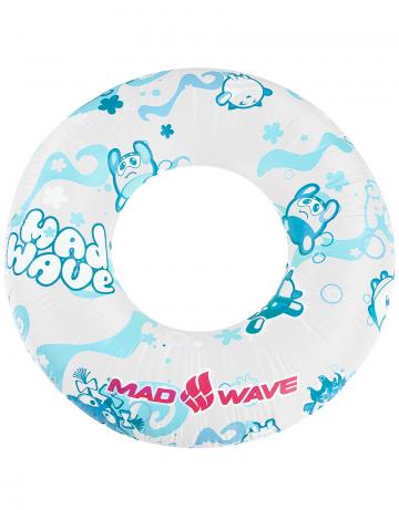 Надувной круг для плавания RingКруги надувные<br>Надувной круг 60 см. Надежный текстурированный ПВХ. Большой удобный и надежный клапан. Прошел европейский тест на безопасность EN 71.<br><br>Размер: 600 mm<br>Цвет: Белый
