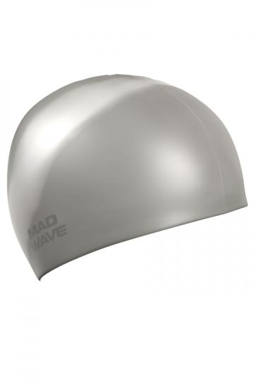 Силиконовая шапочка для плавания Multi AdultСиликоновые шапочки<br>Мультисиликоновая шапочка Mad Wave Multi Adult  изготовлена из высококачественного силикона, который обеспечивает высокую эластичность материала и максимальное удобство при плавании. Надежно защищает волосы от контакта с хлорированной водой, гипоаллергенна, не прилипает к волосам.  Имеет большой выбор расцветок, что дает возможность подобрать шапочку под цвет купальника. Отличается высокой эластичностью, легко надевается,  благодаря чему подходит как взрослым, так и подросткам от 10 лет.<br><br>Цвет: Серый