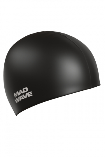 Силиконовая шапочка для плавания Intensive BigСиликоновые шапочки<br>Мультисиликоновая шапочка увеличенного размера + 5 мм<br><br>Размер: L<br>Цвет: Черный