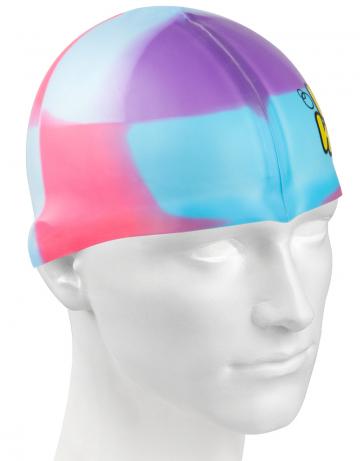 Силиконовая шапочка для плавания Multi JuniorСиликоновые шапочки<br>Мультисиликоновая шапочка Mad Wave Multi Junior  изготовлена из высококачественного силикона, который обеспечивает высокую эластичность материала и максимальное удобство при плавании. Надежно защищает волосы от контакта с хлорированной водой, гипоаллергенна, не прилипает к волосам.  Имеет большой выбор расцветок, что дает возможность подобрать шапочку под цвет купальника. Отличается высокой эластичностью, легко надевается,  благодаря чему подходит как взрослым, так и подросткам от 10 лет.<br><br>Цвет: Пурпурный