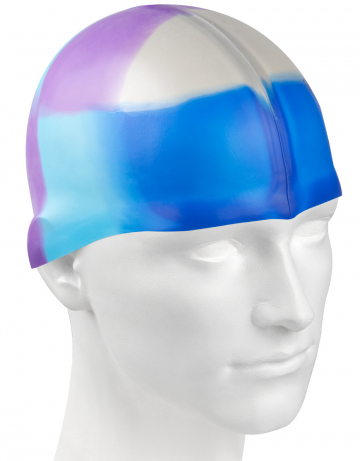 Силиконовая шапочка для плавания Multi JuniorСиликоновые шапочки<br>Мультисиликоновая шапочка Mad Wave Multi Junior  изготовлена из высококачественного силикона, который обеспечивает высокую эластичность материала и максимальное удобство при плавании. Надежно защищает волосы от контакта с хлорированной водой, гипоаллергенна, не прилипает к волосам.  Имеет большой выбор расцветок, что дает возможность подобрать шапочку под цвет купальника. Отличается высокой эластичностью, легко надевается,  благодаря чему подходит как взрослым, так и подросткам от 10 лет.<br><br>Цвет: Серый