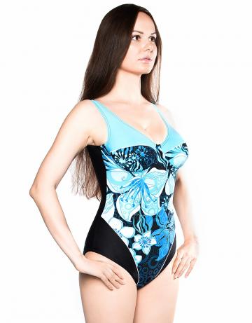Моделирующий купальник MALTAМоделирующие купальники<br><br><br>Размер: XL<br>Цвет: Голубой