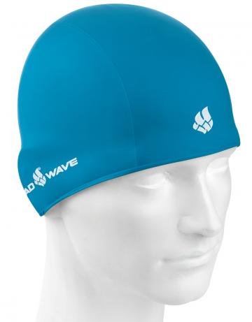 Резиновая шапочка TRAININGРезиновые шапочки<br>Резиновая тренировочная шапочка. Удобная и надежная  посадка.<br><br>Цвет: Бирюзовый
