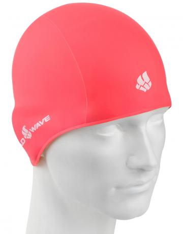 Резиновая шапочка TRAININGРезиновые шапочки<br>Резиновая тренировочная шапочка. Удобная и надежная  посадка.<br><br>Цвет: Бледно-розовый