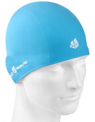 Резиновая шапочка TRAININGРезиновые шапочки<br>Резиновая тренировочная шапочка. Удобная и надежная  посадка.<br><br>Цвет: Голубой