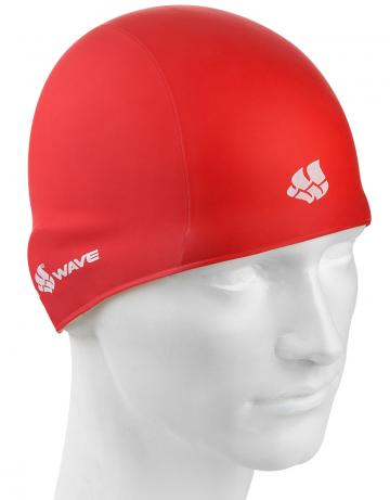 Резиновая шапочка TRAININGРезиновые шапочки<br>Резиновая тренировочная шапочка. Удобная и надежная  посадка.<br><br>Цвет: Красный