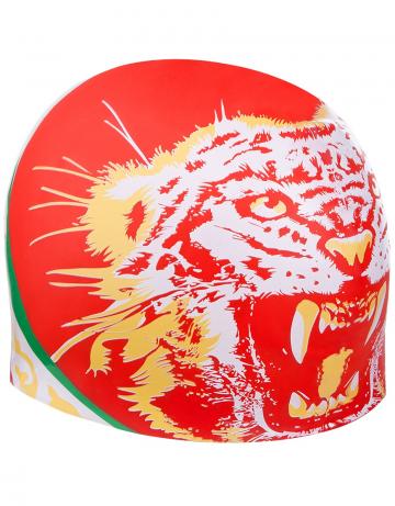 Силиконовая шапочка для плавания TATARSTANСиликоновые шапочки<br>Силиковая шапочка с национальной символикой. Подходит для взрослых людей и подростков от 10-11 лет.<br><br>Размер: None<br>Цвет: Красный
