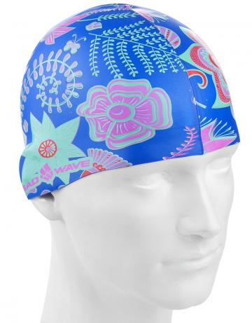 Силиконовая шапочка для плавания TROPICСиликоновые шапочки<br>Детская шапочка. Подходит для поростков до 10-11 лет.<br><br>Размер: None<br>Цвет: Голубой