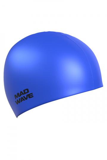 """Силиконовая шапочка для плавания Metal Silicone SolidСиликоновые шапочки<br>Силиконовая шапочка Mad Wave Metal Silicone Solid  изготовлена из высококачественного силикона, который обеспечивает высокую эластичность материала и максимальное удобство при плавании. Надежно защищает волосы от контакта с хлорированной водой, гипоаллергенна, не прилипает к волосам.  Имеет яркие цвета с эффектом """"металлик"""". Отличается высокой эластичностью, легко надевается,  благодаря чему подходит как взрослым, так и подросткам от 10 лет.<br><br>Размер: None<br>Цвет: Серый"""