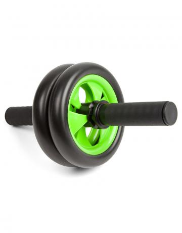 Фитнес тренажер Exercise wheel with stopperФитнес инвентарь<br>Ролик для пресса. Улучшает рельеф и форму мышц живота. Повышает тонус мышц рук, ног, бедер и плеч. Двойное колесо для дополнительной устойчивости. Рукоятки могут фиксировать ролик в любом положении по ходу движения для стационарных упражнений.<br><br>Цвет: Черный
