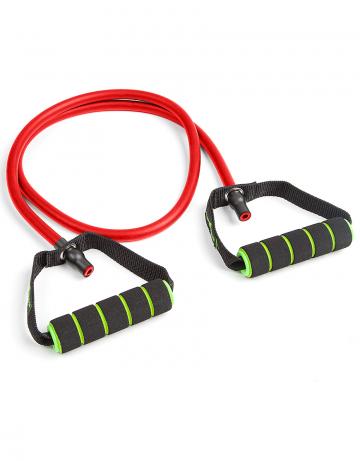 Фитнес тренажер Resistance cordФитнес инвентарь<br>Эластичный тренажер для фитнеса . Предлагается в трех вариантах жесткости. <br>длина - 148 см<br><br>Размер INT: S<br>Цвет: Красный