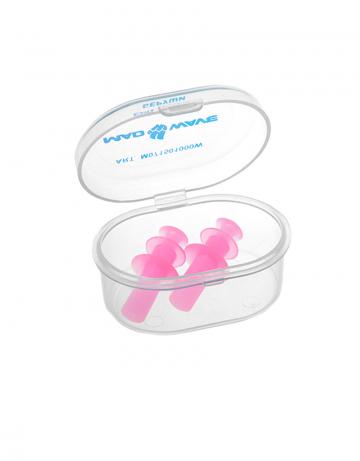 Беруши для плавания Ear plugsБеруши для плавания<br>Беруши из термопластичной резины.<br><br>Цвет: Розовый
