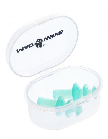 Беруши для плавания Ear plugsБеруши для плавания<br>Беруши из термопластичной резины.<br><br>Цвет: Зеленый