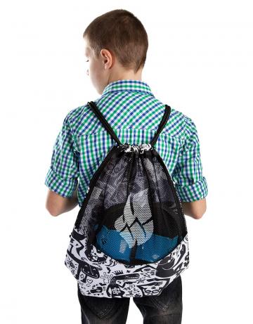 Рюкзак сумка для бассейна DRY GYM BAGРюкзаки и сумки<br>Вентилируемый мешок для спортивной одежды и инвентаря.<br><br>Размер: 45,5x38<br>Цвет: Черный