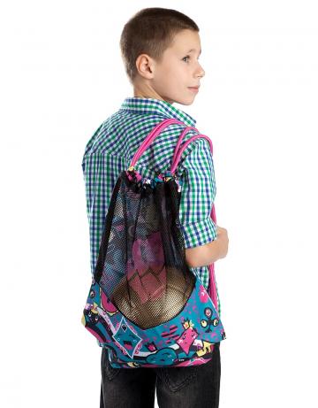Рюкзак сумка для бассейна DRY GYM BAGРюкзаки и сумки<br>Вентилируемый мешок для спортивной одежды и инвентаря.<br><br>Размер: 45,5x38<br>Цвет: Бирюзовый