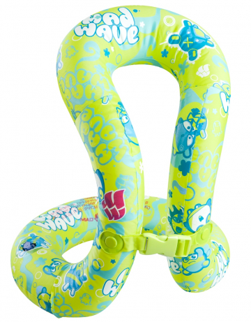 Надувной жилет для плавания LIGHT swimwestЖилет надувной<br>Облегченный жилет для обучению плаванию. Не стесняет движений. 3 размера. Надежный текстурированный ПВХ. Большой удобный и надежный клапан. Прошел европейский тест на безопасность EN71.<br><br>Размер: 80-120 см<br>Цвет: Зеленый