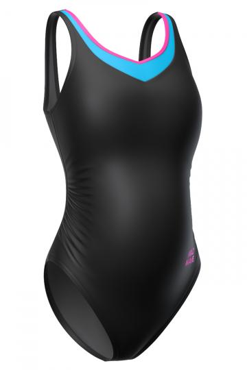 Купальник для беременных GAIA for pregnantКупальник для беременных<br>Слитный купальник для беременных женщин. В подкладке лифа формованные чашки. Эластичная лента под грудью создает необходимый поддерживающий<br>эффект. Подходит как для занятий в бассейне, так и для пляжного отдыха.<br><br>Размер INT: L<br>Цвет: Черный