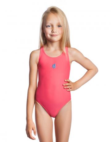 Детский купальник ElenДетские купальники<br>Купальник слитный. Базовая модель. Эргономичный крой спины Techno Back дает полную свободу движений и комфорт при длительных тренировках. Вырез бедра высокий.<br><br>Размер INT: S<br>Цвет: Коралловый