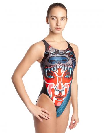 Спортивный купальник для плавания TRIBEСпортивные купальники<br>Купальник слитный с эргономичным кроем спины Techno Back. Вырез бедра высокий. Подходит как для спортивных тренировок, так и для отдыха.<br><br>Размер: M<br>Цвет: Бирюзовый