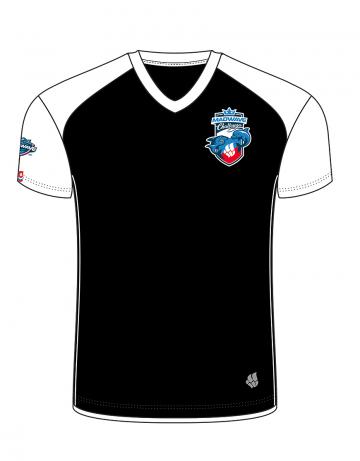 Спортивная футболка MW Challenge MenФутболки<br>Мужская футболка с коротким рукавом. V-образный вырез горловины. Приталенный силуэт. Представлена в нескольких цветах.<br><br>Размер INT: M<br>Цвет: Черный