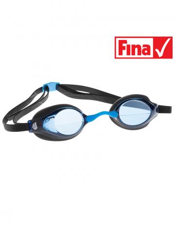 Стартовые очки Record breakerСтартовые очки<br>Разработанная нашими специалистами инновационная конструкция линз дает пловцам превосходный фронтальный обзор и позволяет сохранять оптимальное положение головы в воде во время тренировок и соревнований. Очки оснащены двойным ремешком для обеспечения надежной фиксации и безопастности при погружении в воду. Линзы имеют защиту от ультрафиолета UV 400 и специальное покрытие AntiFog. В комплекте 3 сменные носовые перемычки. Низкопрофильный обтюратор.<br><br>Очки RECORD BREAKER сертифицированы федерацией FINA для участия в международных соревнованиях.<br><br>ОСОБЕННОСТИ<br><br><br>Особая конструкция линз - обеспечивает превосходный фронтальный обзор, позволяет сохранять оптимальное положение головы и тела в воде;<br>Сменная носовая перемычка - подходят для любого типа лица;<br>Защита UV 400 - усовершенствованная защита от ультрафиолета;<br>Покрытие антифог - защита от запотевания;<br>Низкопрофильный обтюратор - обеспечивает надежную посадку и повышает гидродинамические свойства;<br>Двойной ремешок - улучшенная фиксация, безопасность и надежность крепления;<br>FINA approved - очки сертифицированы федерацией FINA для участия в международных соревнованиях.<br><br>Цвет: Синий