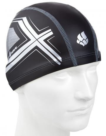 Комбинированная шапочка для плавания SPYDER put coatedКомбинированные шапочки<br>Текстильная шапочка с полиуретановым покрытием. Легкая и комфортная.<br><br>Размер: None<br>Цвет: Черный