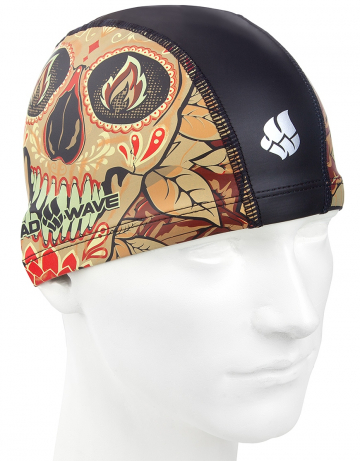 Комбинированные шапочки Mad Wave TOMB FACE put coated M0584 01 0 00WКомбинированные шапочки<br>Текстильная шапочка с полиуретановым покрытием и рисунком. Легкая и комфортная.<br><br>Размер: None<br>Цвет: Черный